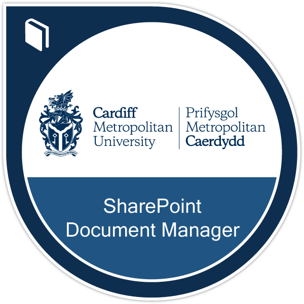 SharePoint Document Manager badge