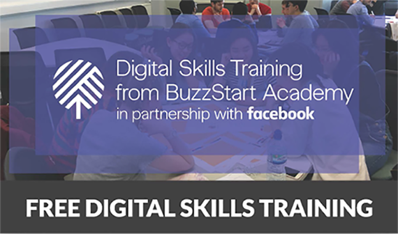 Facebook Digital Skills banner