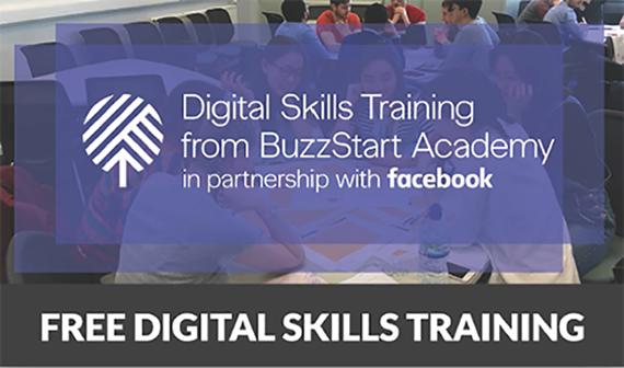 Facebook Digital Skills banner